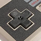 New NES Classic Edition Controller with 1.8M/6Ft Extention Cable, YCCTEAM Retro GamePad (Old-Skool Grey), Classic Wired Game Controller for NES Classic Mini