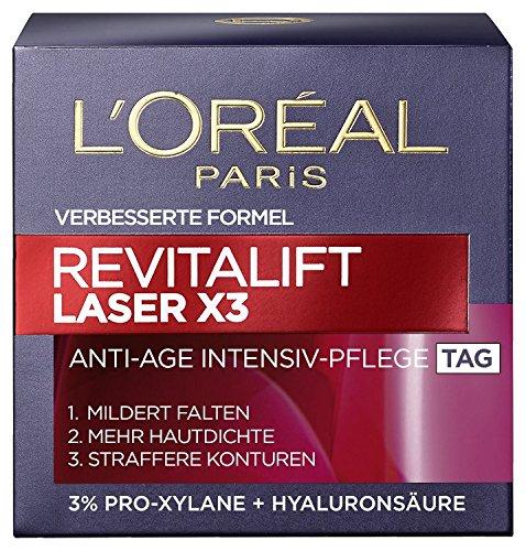 L'Oréal Paris L'Oreal Paris Gesichtscreme Revitalift Laser X3 Anti-Age Tagescreme, 1er Pack (1 x 50 ml)