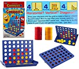 #1: MousePotato Connect 4 in A Row 4 In A Line Compact Board Game