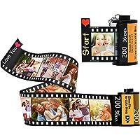 Personalizza 15 Foto Album Fotografico Portachiavi Personalizzato Portachiavi Con Rullino Fotografico A Colori…