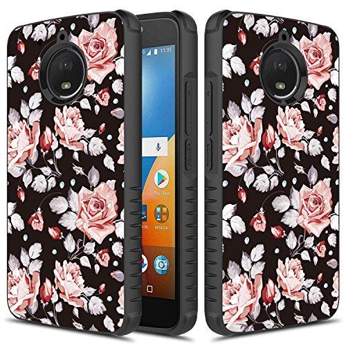 Motorola Moto G5S Handy Fall, KKD Pink Rose Pink Handy Fall