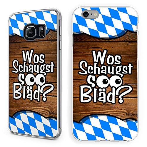 Hülle Bayrische Sprüche iPhone Hardcase Spruch Bayern I mog di Bairisch Dialekt, Handymodell:Apple iPhone 7 Plus, Hüllendesign:Design 2   Hardcase Klar