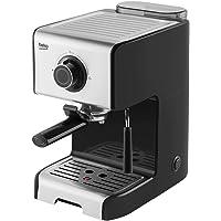 BEKO Macchina caffè Espresso Manuale CEP5152B, 15 Bar di Pressione della Pompa, 1200 W, Plastica, Inox