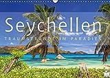 Seychellen Traumstrände im Paradies (Wandkalender 2019 DIN A3 quer): Fernweh Sommer Sonne Strand und Meer (Monatskalender, 14 Seiten ) (CALVENDO Natur)