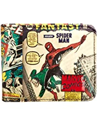 Marvel Retro Outside Print Wallet by Marvel
