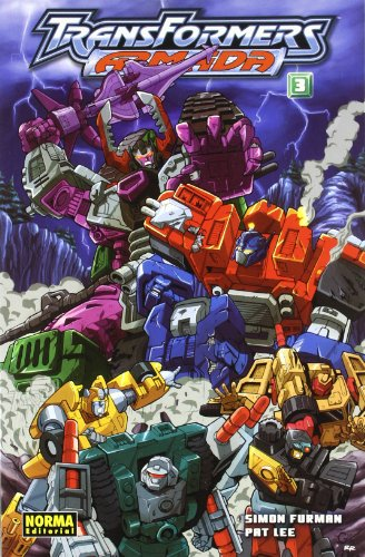 Transformers Armada 03 Simon Furman Y Pa (CÓMIC USA) por Simon Furman
