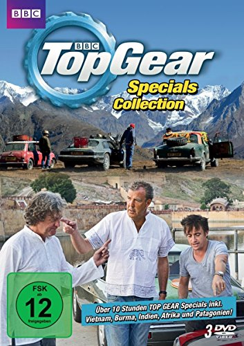 Top Gear Specials Collection [3 DVDs] (Top Gear-serie 1)