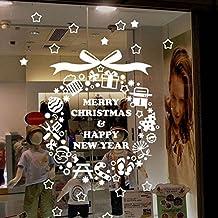 Decoracion navidad escaparates for Amazon decoracion pared