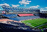 The Poster Corp Panoramic Images – Elevated View of Gillette Stadium Home of Super Bowl Champs New England Patriots NFL Team Boston MA Kunstdruck (60,96 x 91,44 cm)