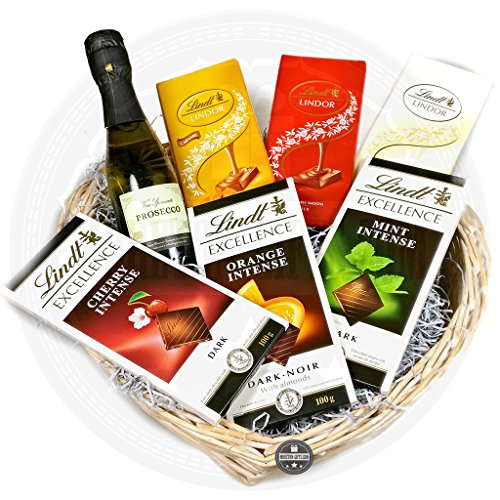 Mum's Luxury Prosecco And Lindt Hamper By Moreton Gifts Ideal Mother's Day, Birthday Gift