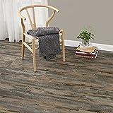 [neu.haus] Laminat Vinyl-Boden Eiche Altholz 1m² - PVC-Design-Bodenbelag mit gefühlsechter Holz-Struktur stark strukturiert Planken zum Kleben - 4 Dekor Dielen = 1,114 qm