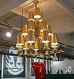 NabothT Einfach im Europäischen Stil Wohnzimmer Schlafzimmer Leuchte Lampe luxus Villa große Deckenleuchten Kunstprojekt, Wächter des Lichts Kronleuchter hell ihr Leben