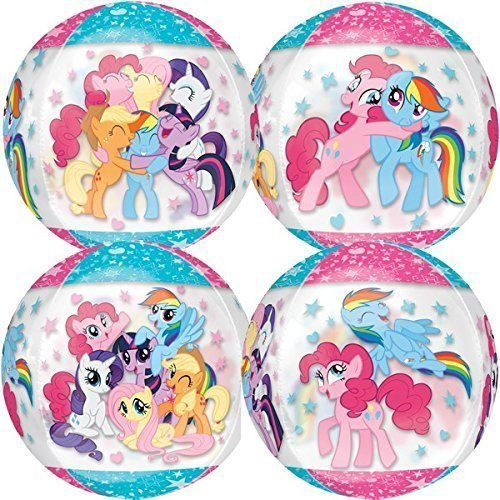 3459501 Orbz My Little Pony Folienballon, transparent (My Little Pony-cups)