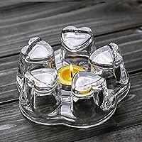 TAMUME Große Glas Stövchen (Kristall)