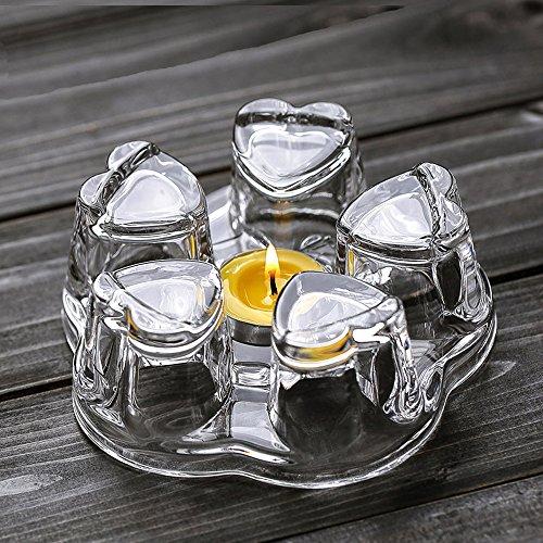 TAMUME Große Glas Stövchen (Kristall) -