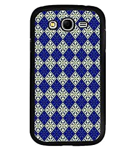 Fuson Premium Royal Pattern Metal Printed with Hard Plastic Back Case Cover for Samsung Galaxy Grand Neo i9060