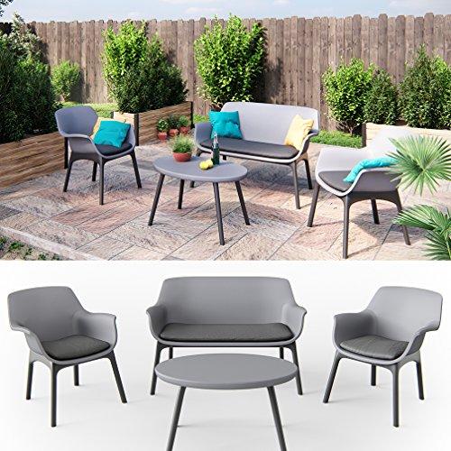 Gartenmöbel Lounge Set Sitzgarnitur - 4