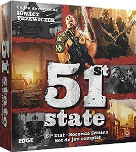 Asmodee-51st State: Segunda Edition, efpg5101, no precisa