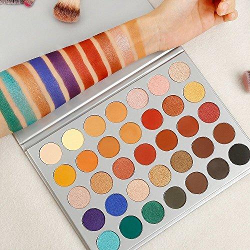 De 'morphe profesional 35color paleta de sombra de ojos impermeable maquillaje sombra de ojos 35x Kit Set