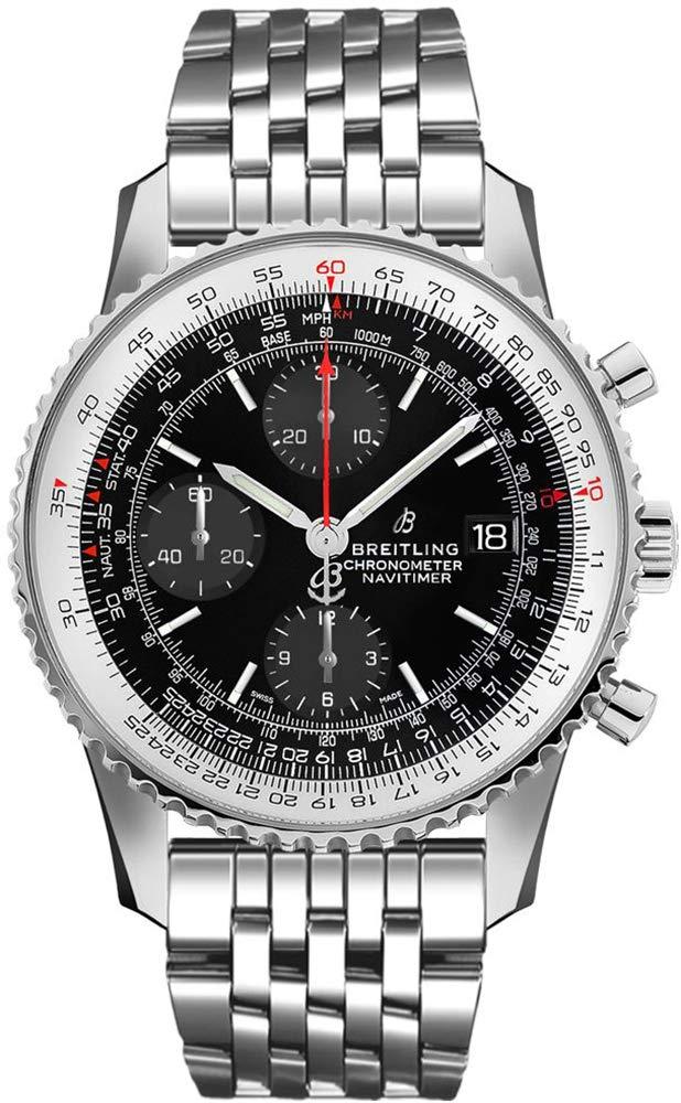 Breitling A13324121B1A1 - Reloj cronógrafo para Hombre (1 cronógrafo, Esfera Negra) 1
