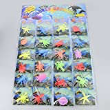 TEC UK Pack of 24 - jelly Growing Sea Life Creatures-Great fun for boys and girls