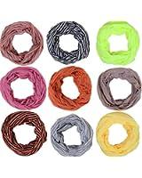 Loop Schlauchschal mit Streifen in 8 tollen Farben