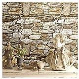 papel pintado, papel pintado imitación piedra, Decoración revestimientos de paredes, a prueba de agua de WallSticker autoadhesiva, conveniente para el salón de la pared de fondo dormitorio