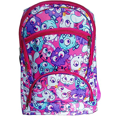 Honey Bunny Cartoon Stylish Print Pink Color (10-15 Lt/16 inch) 5 Compartment Back and Shoulder Strap padding Polyester Backpack Bag for Nursery and Junior School Girls, Boys and Kids Students (Doraemon, Chota Bheem, Ben 10, Barbie, Motu Patlu, Cinderella Princess, Sponge Bob, Honey Bunny, Subway Surfers, Micky Mouse, Bugs Bunny, Tweety, Goofy, Tom, Jerry, Donald duck, Snow White etc)  available at amazon for Rs.425