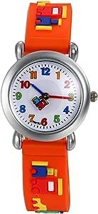 Lancardo Orologio Quarzo per Studenti Bambini Cinturino Silicone Quadrante Digitale Impermeabile, Colore a scelta