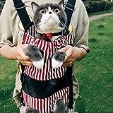RONGXIN Pet Rucksack Hund Riemen Tragbar Brust Schulter Tasche Teddy Kleine Hunde Schütteln