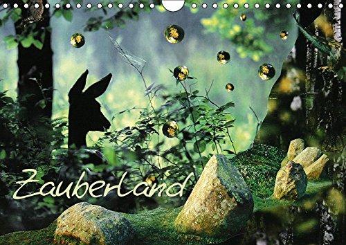 Zauberland (Wandkalender 2019 DIN A4 quer): Ein Kalender voller Zauber und Magie! (Monatskalender, 14 Seiten ) (CALVENDO Kunst)