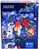 Jaques of London WE LOVE SPACE jigsaw puzzle for kids - 150 piece Jigsaw puzzle for children - recommended puzzle for 5 6 7 8 year olds -