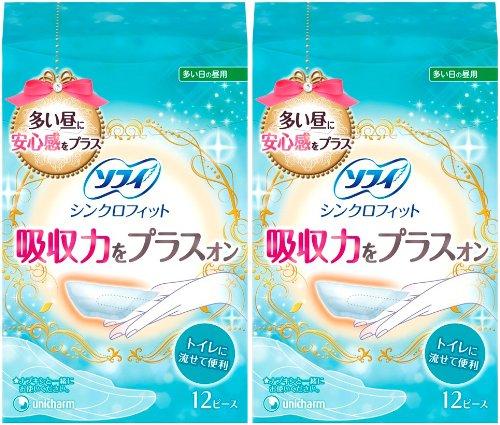 japan-personal-care-sophie-synchro-fit-12-piece-2-pack-unicharm-sofy-af27