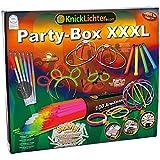 """Knicklichter Party-Box XXXL, Testnote: 1,4 """"SEHR GUT"""" Komplett-Set, alle unsere Topseller im Geschenkkarton incl. Gratisbonus"""