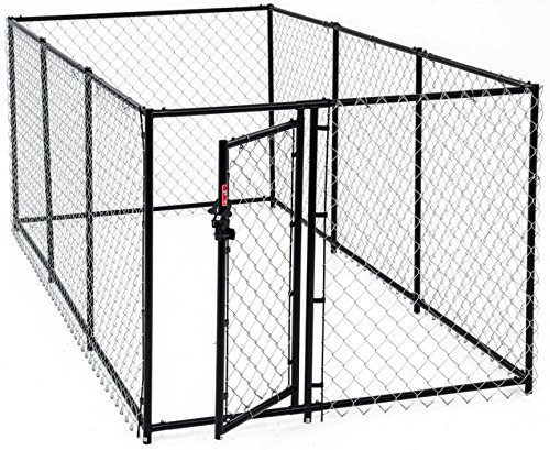 #Ein Hundezwinger aus 100 % hochwertigem Stahl – Freischwingende Tür#