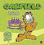 Garfield Broschurkalender 2018: 40 - Happy Birthday
