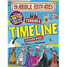 Terrible Timeline (Horrible Histories Sticker Activity Book)