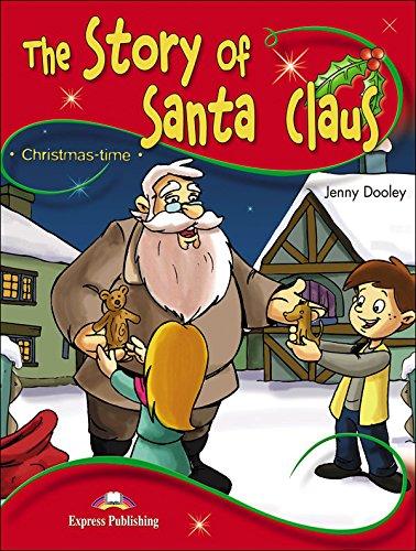 The story of Santa Claus set +cd/dvd por Jenny Dooley