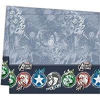 Procos 85392 - Tovaglia Plastica Marvel Avengers, 120 x 180 cm, Grigio