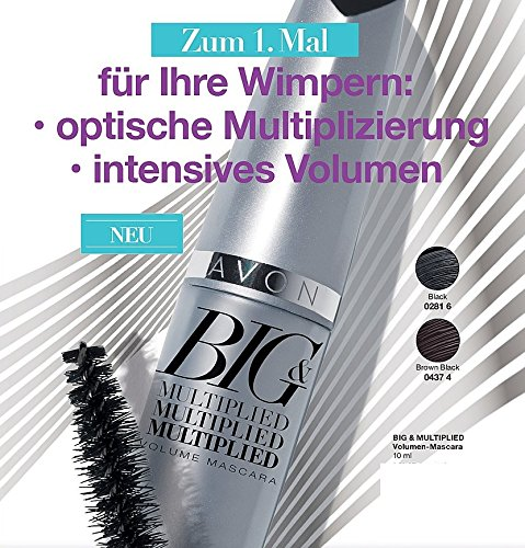 Avon Big & Multiplied Mascara schwarz (Avon Mascara)