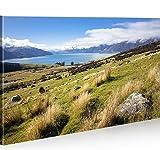 islandburner Bild Bilder auf Leinwand Schottland V2 1K XXL