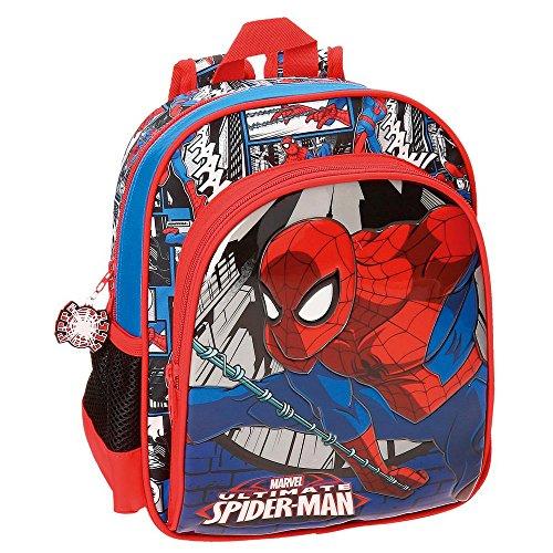 Spiderman Comic Zainetto per bambini, 28 cm, 6.44 liters, Multicolore (Multicolor)