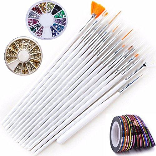 Ecloud Shop® Kit Herramientas Uñas Arte Uñas Arte
