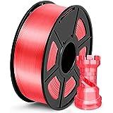 SUNLU PLA Filamento 1.75mm Silk Candy Dandy, Stampante 3D Filament PLA 1kg Spool, Tolleranza del diametro +/- 0,02 mm PLA Sil