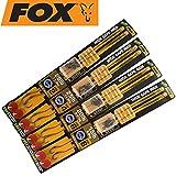 Fox Edges Armapoint Wide gape rigs 22cm green - 2 Karpfenrigs zum Karpfenangeln, Vorfächer für Karpfen, Karpfenmontage, Karpfenvorfach