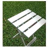 Heruai Aluminium Multifunktions-Klapphocker Klappstuhl Stuhl Portable Fischen Hocker Kinder Camping...