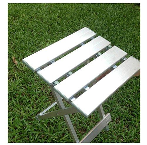 Gepolsterte Stoff-klappstuhl (Heruai Aluminium Multifunktions-Klapphocker Klappstuhl Stuhl Portable Fischen Hocker Kinder Camping Stuhl Casual Hocker Lager Kapazität von 150Kg)
