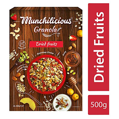 2. Munchilicious Natural Granola Cereal