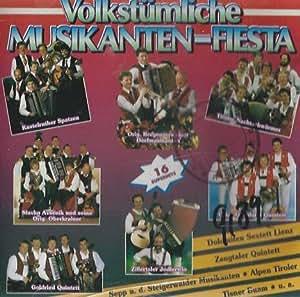 Volkstümliche Musikanten-Fiesta