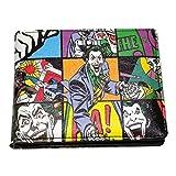 Batman 80A293 Joker Pop Art Portefeuille dans Une boîte Cadeau en étain